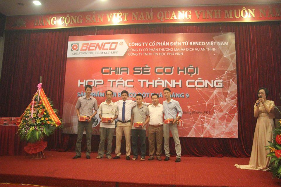 Camera Thanh Hóa Hợp tác với BENCO