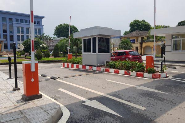 Công trình thực tế Barrier Tự Động Bisen BS-306 thanh hóa