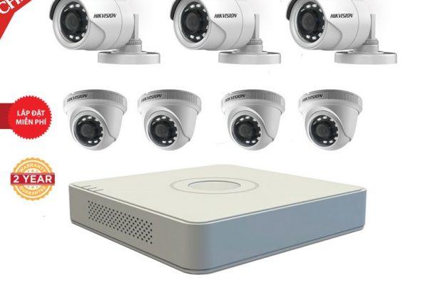 bộ 7 camera hikvision thanh hóa giá tốt