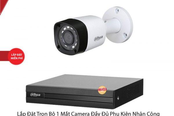 Lắp đặt Trọn bộ 1 Mắt Camera
